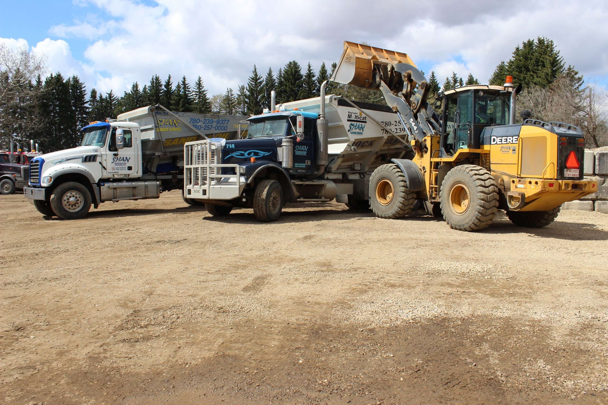 Shan Construction Trucking and Slinger Service